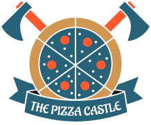 The Pizza Castle And Indian Curry logo