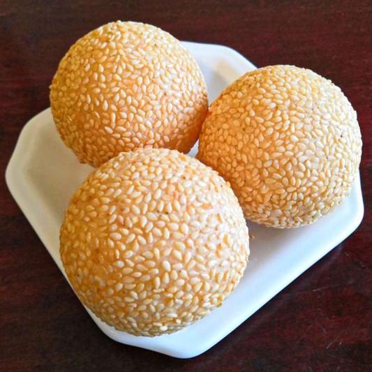S5. Sesame Seed Balls (3 pcs)