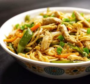 Noodles (Hakka Style or Szechuan Style)