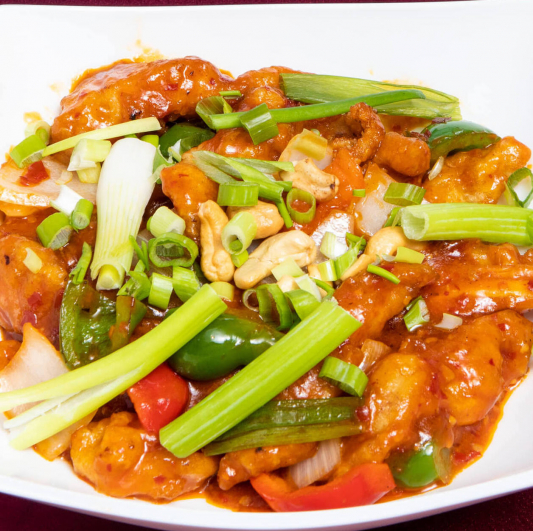 Dragon Fish with Cashew Nuts