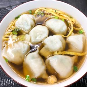 374. Jiaozi Dumpling in Soup (8 Pcs) 上湯水餃