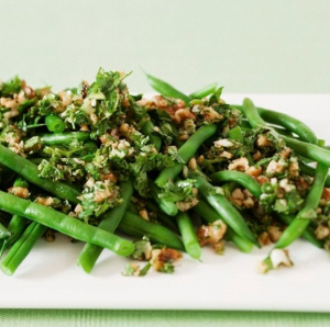 391. Puff with Pine Nuts Diced Green Beans and Minced