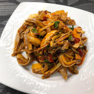 33. Beef Tendon in Chili Sauce 紅油牛筋