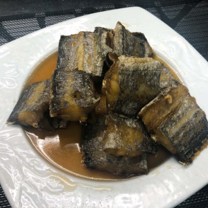 40. Hairtail Fish in Rice Wine Sauce 糟帶魚