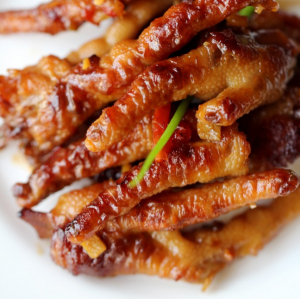 Braised Pork Bellies or Duck Feet with Rice Wine Sauce