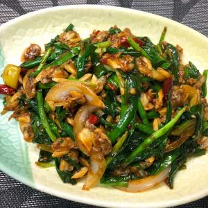 605. Fried Clams with Leeks 韭菜炒蜆肉