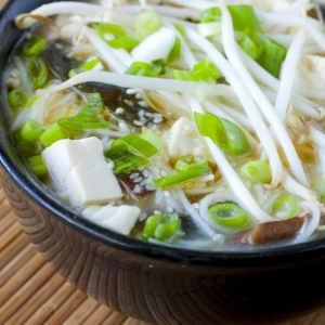 Tofu Soup with Sredded Pork