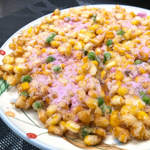 497. Fried Corn Pancake 香煎玉米烙