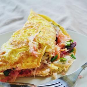 250. Tofu Omelet