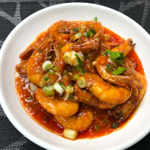 115. Fried Prawn with Chili Sauce 乾燒明蝦
