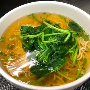 438. Plain Noodles Soup 陽春麵