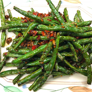 343. Dry Fried Green Beans with Minced Pork 乾燒四季豆