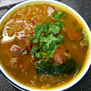 63. Curry Beef and Vermicelli Soup 咖哩牛肉粉絲湯