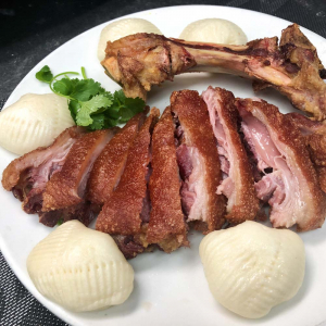 614. Crispy Pig Knuckle with Mini Steamed Buns 香脆豬肘配小蒸包