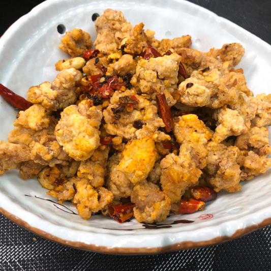 Sauteed Diced Chicken