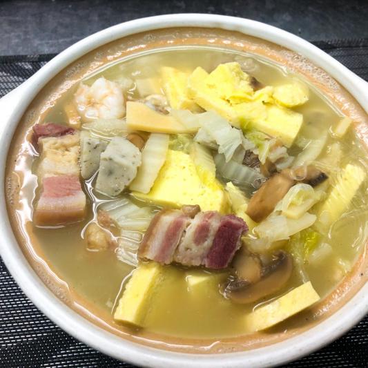 316. Braised Baby Cabbage in Casserole 砂鍋津白