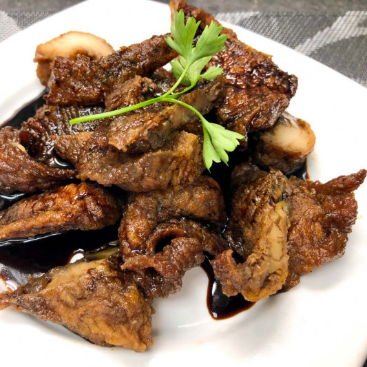 22. Spiced Smoked Fish Suzhou Style 蘇式燻魚