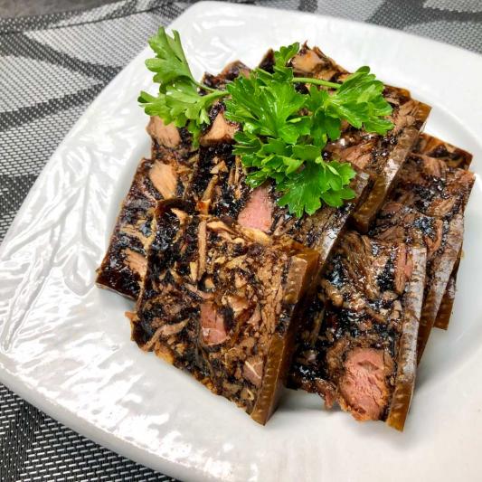 16. Soy Jelly Pork Shanghai Style 上海醬凍蹄