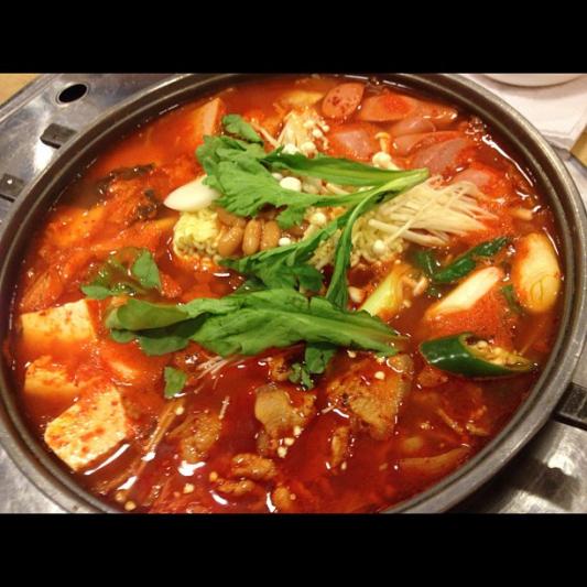 436. Rice Cake w/ Preserved Vegetable and Shredded Pork 雪菜肉絲湯年糕