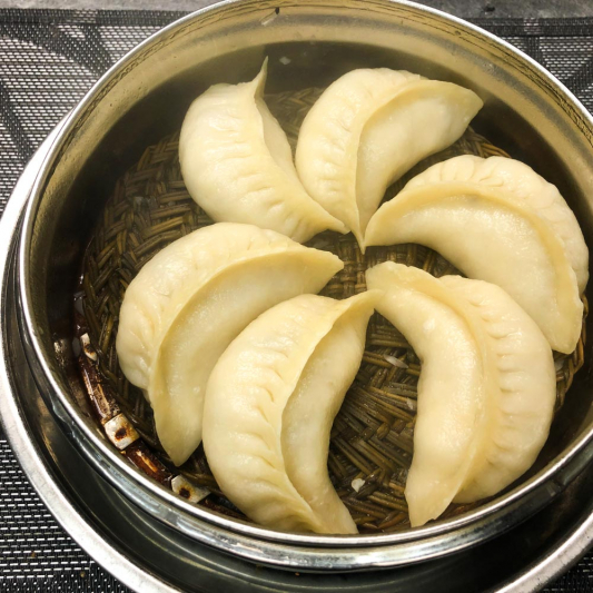 380. Steamed Jiaozi with Vegetable (6 pcs) 素蒸餃