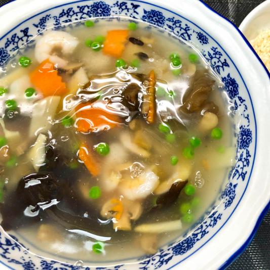 297. Sauteed Shrimp w/ Crispy Rice 蝦仁鍋粑