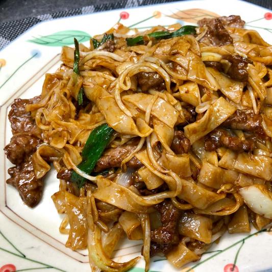Stir Fried Rice Noodles