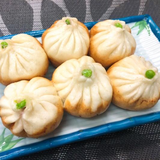 Pan-Fried Dumpling Filled
