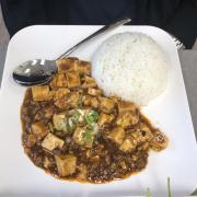 14. Mapo Tofu on Rice 麻婆豆腐饭