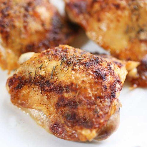1. Spicy Chicken Thigh