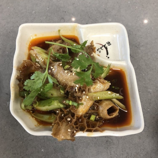 9. Three Vegetables in Chili Sauce 老虎菜