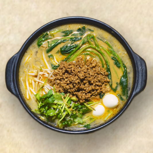 Meat Sauce Rice Noodle in Dandan Broth
