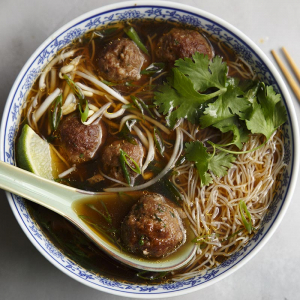 P10. Meat Ball Noodle Pho