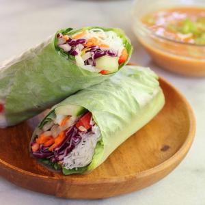 S2. Veggie Salad Rolls (4 pcs)