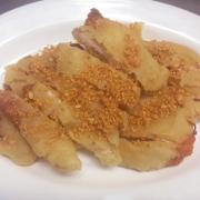 Deep-Fried Breaded Almond Chicken