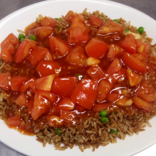 Curried Chicken Fried Rice