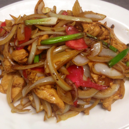 Ginger and Onion Chicken