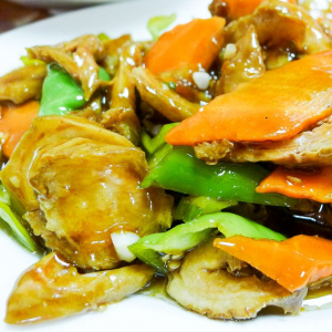 C03. Pork Intestine with Hunan Pickle