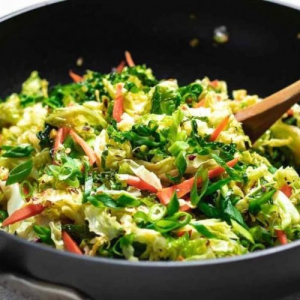 H08. Hunan Style Cabbage with Chili