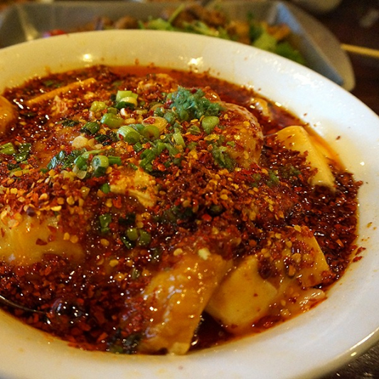 D01. Steamed Lin Cod Head with Hunan Chili
