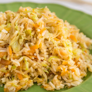 Pickled Chinese Cabbage Fried Rice 老干妈酸菜炒饭