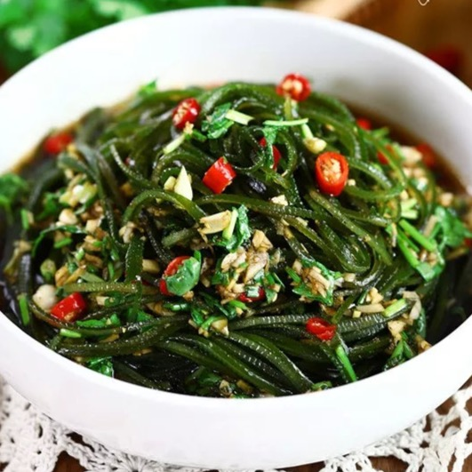 Seaweed with Garlic and Ginger 凉拌海带
