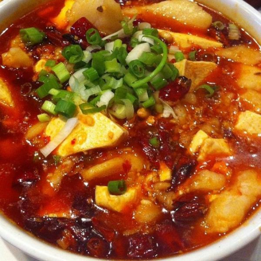 Spicy Fish with Tofu