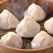 1. Signature Shanghai Style Soup Dumplings (6 Pcs) 白玉蘭小籠包