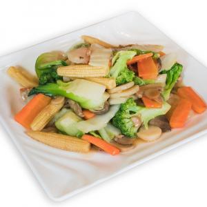3. Buddha Style Mixed Vegetable