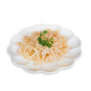 5. Jelly Fish in Scallion Oil 蔥油海蟄