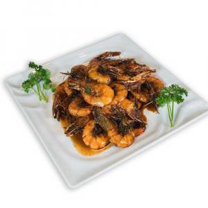 2. Shanghai Style Prawns 油爆蝦