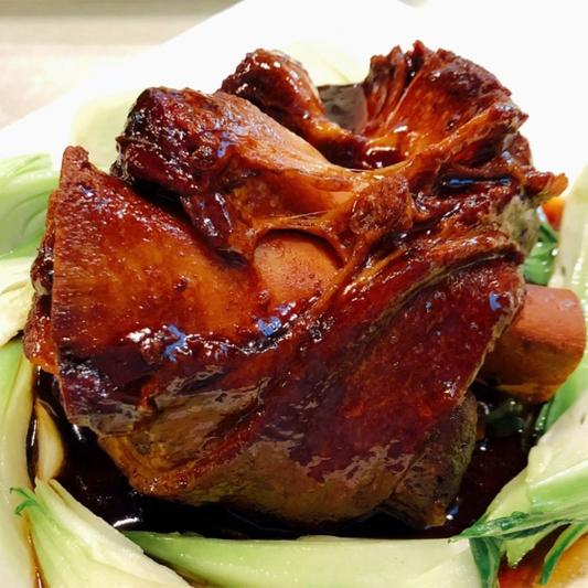 10. Braised Pork Knuckle 紅燒圓蹄