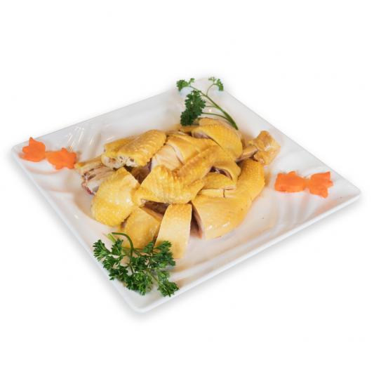 6. Shanghai Style Steamed Chicken 上海三黃雞