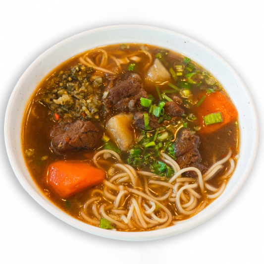 7. Taiwan Style Beef Noodle Soup 台灣牛肉麵