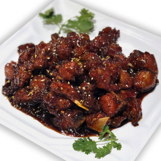 11. Pork Spare Ribs in Brown Venegar Sauce 老上海鎮江骨